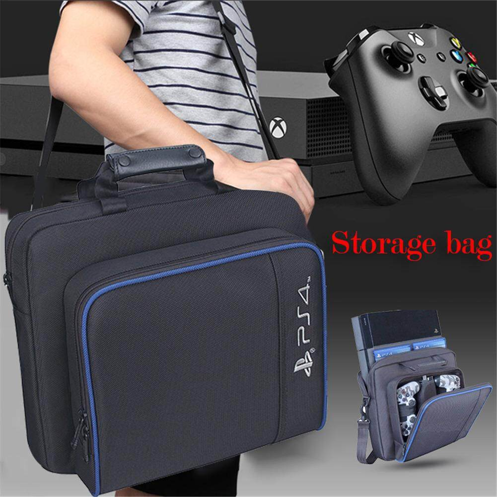 Travel Console Storage Bags Shockproof Playstation Protecive Backpack Games Accessories Suitable For Ps4 Slim By Baoxuhouse.
