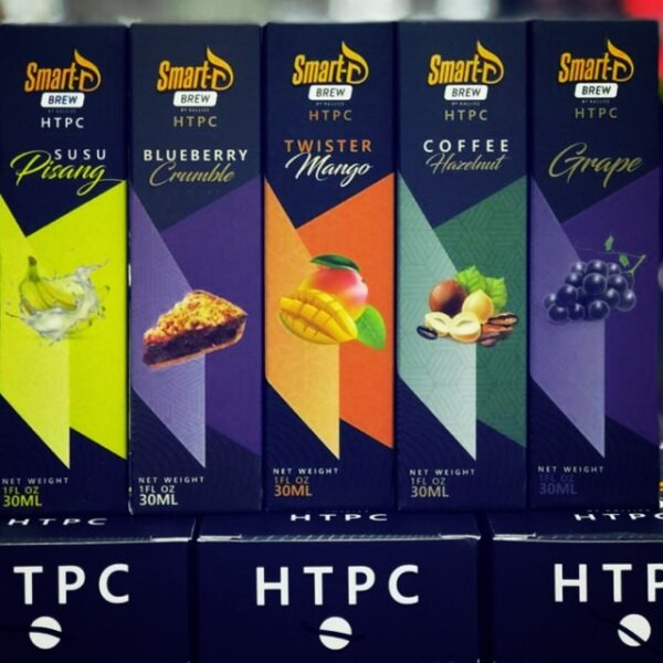 READY STOCK Smart D Brew HTPC Series Coffee Hazelnut / Mango / Grape / Pisang Susu / Blueberry Crumble 30ml E-Juice ejuiceFor Vape Malaysia