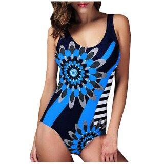 EEQ C Đệm Chống Đẩy Thời Trang Nữ In Hình Thái Lan Đồ Bơi Áo Tắm Beachwear Bộ Đồ Bơi Ngoại Cỡ Gợi Cảm 2021 Bãi Biển Mặc Đồ Bơi Bikini Cho Nữ, Bảo Thủ Giảm Giá Màu Xanh thumbnail