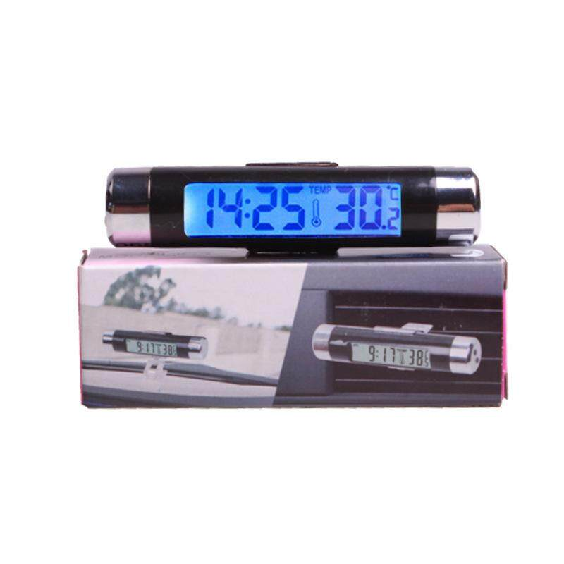 Sk Automobile Accessories Car Outlet Thermometer Electronic Clock Led Display Dashboard Decoration By Skdk Shop.