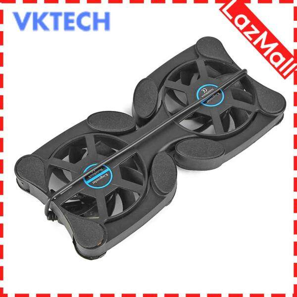 Portable Collapsible Laptop Cooler USB Dual Fan Cooling Pad for Notebook PC Accessory Malaysia