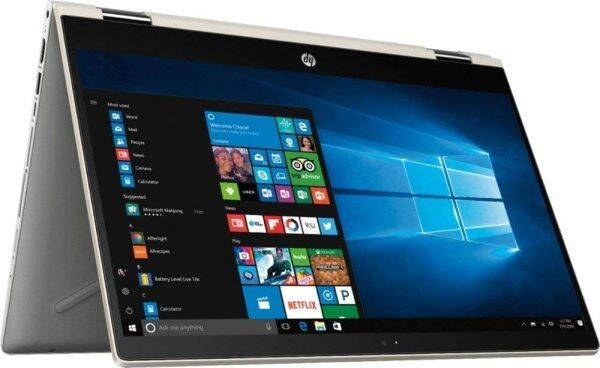HP Pavilion x360 14 FHD WLED Touchscreen 2-in-1 Convertible Laptop, Intel Quad-Core i5-8250U 1.60GHz up to 3.4GHz, 8GB DDR4, 256GB SSD, WiFi, Bluetooth, Webcam, HDMI, Fingerprint Reader, Windows 10 Malaysia