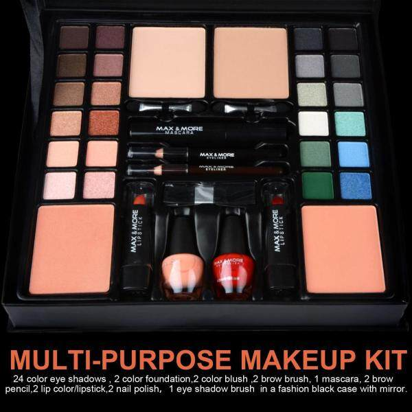 Buy [tr6y54piy9dhfrt] 24 Colors Eyeshadow Makeup Palette Set Mascara Eyeliner Lipstick Set Singapore