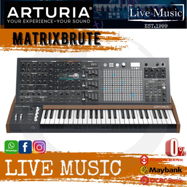 Arturia MatrixBrute Analog Monophonic Synthesizer Malaysia