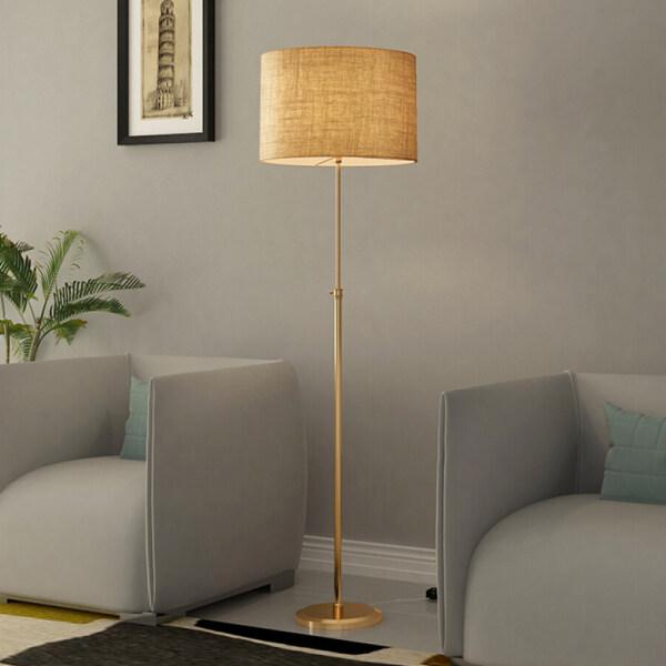 MagiDeal American floor lamp living room bedroom modern adjustable vertical lamp