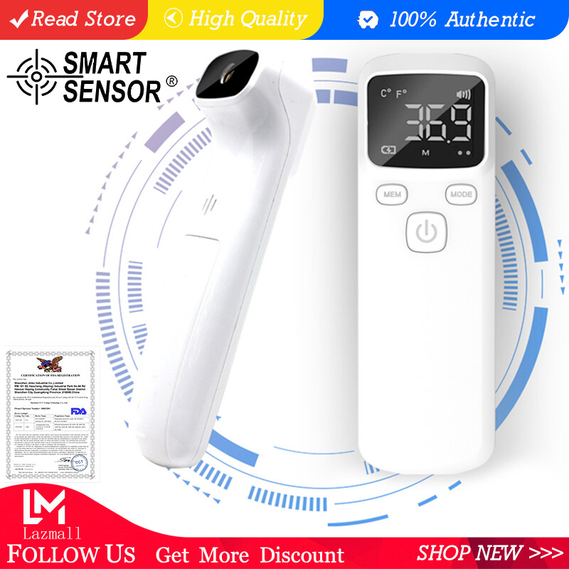 (Lowest Price)SMART SENSOR HF150 Non-contact IR Infrared Thermometer Forehead Thermometer Digital LCD Thermometer Body Temperature Gauge Handheld Temperature Meter Dual Mode Forehead Body Surface Measurement