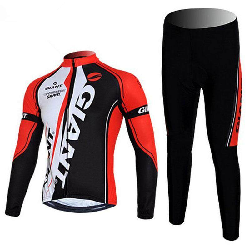 ⟨READY STOCK⟩GIANT Team Cycling Jersey Quick Dry Bicycle Clothing  Breathable Bike Jersey 9D 41b107ba2