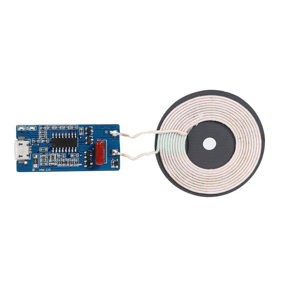 Qi DIY Wireless Charger Module Transmitter PCBA Circuit Board with DIY Coil