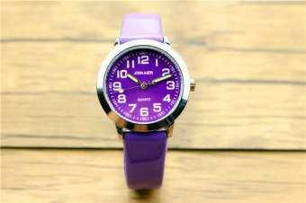 YB2223 Nazeyt เด็กน่ารัก 7 สีนาฬิกาหน้าปัดสายหนังเด็กชายและเด็กหญิงส่องสว่างนาฬิกาของขวัญ Reloj de cuarzo FWKI 15-