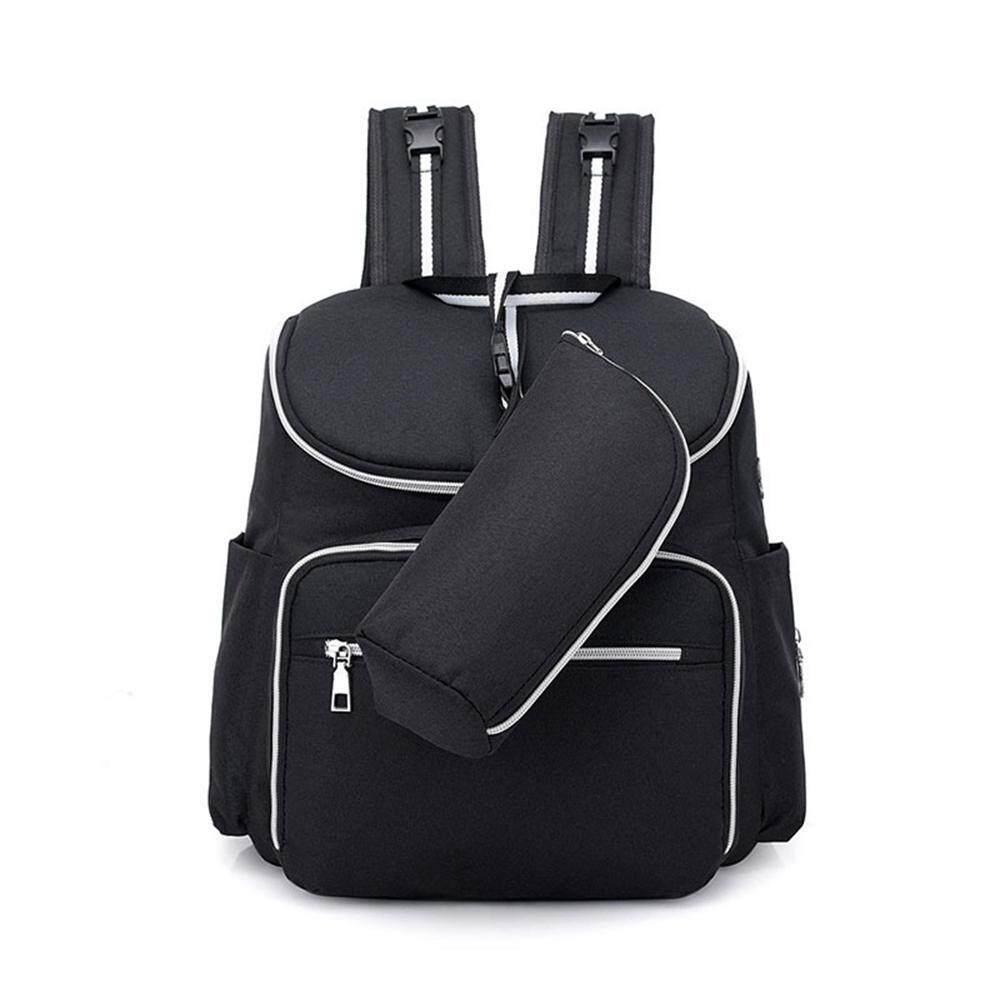ed1445ce0352 GoodGreat External USB Interface Headphone Jack Diaper Bag Backpack,  Multi-Function Waterproof Maternity Baby Nursing Nappy Back Pack for  Boy/Girl on ...
