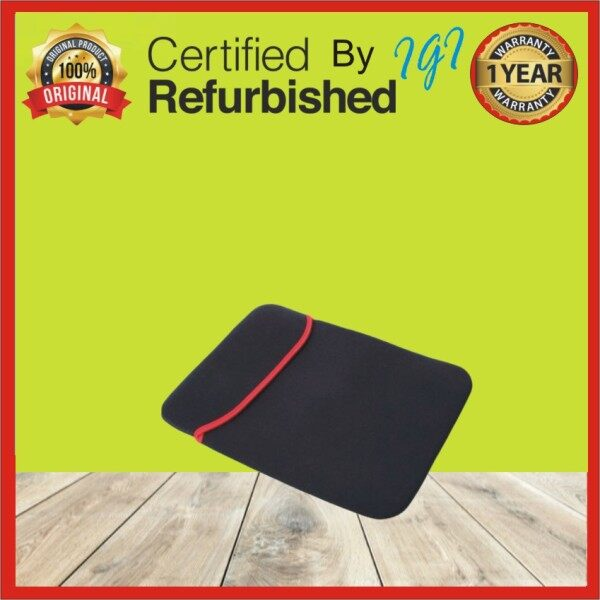12-12.5  Double Faced Laptop Pouch Sleeve Black Malaysia