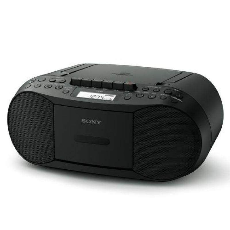 SONY CD radio cassette recorder CFD-S70: FM / AM / FM wide corresponding recordable black CFD-S70 B Singapore