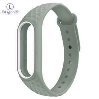 Vòng đeo tay bằng silicone mềm thay thế cho đồng hồ Xiaomi Mi Band 2 thumbnail
