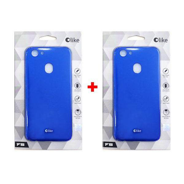 newest collection d4339 d97f8 2 x Olike Oppo F5 Back Cover Casing (Blue)