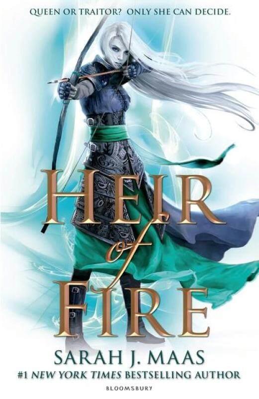 BORDERSA Heir of Fireno. 3 (Throne of Glass) by Sarah J. Maas  (Author) Malaysia