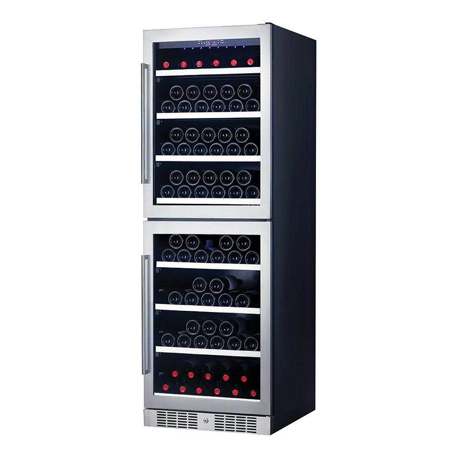 Pacifica Alw160 Dual Temperature Zone Wine Cellar By Double J Electrical.