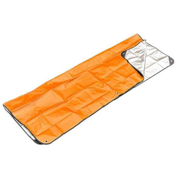 YKTOP Outdoor First Aid Emergency Blanket Emergency Sleeping Bag Insulation Reflective Orange Aluminized Film
