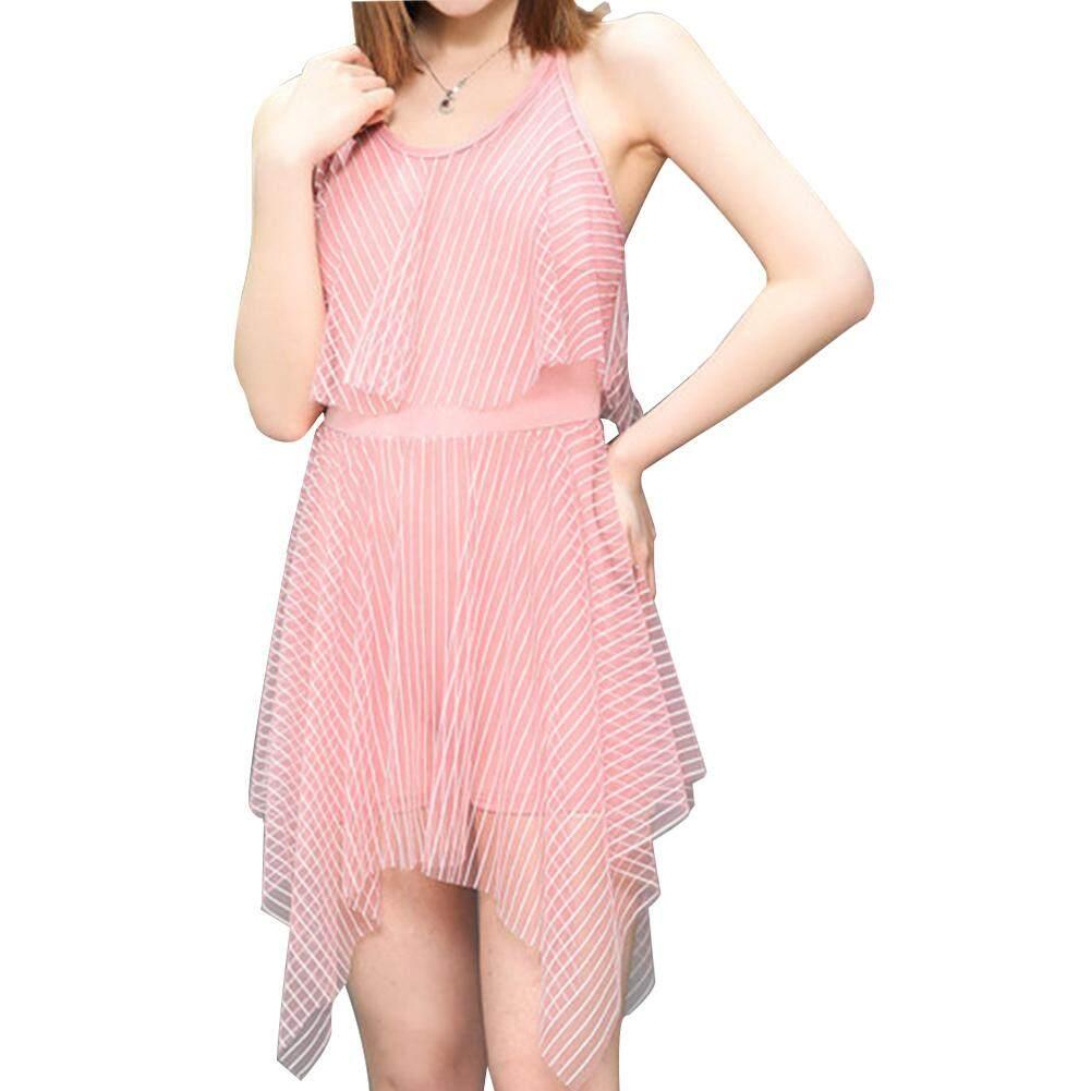 575a1cd399 HuaX Women Fashion Summer Sweet Sling Dress Style One-piece Bikini Lady  Clothing