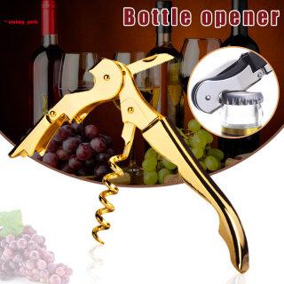 Dụng Cụ Mở Nắp Chai Rượu Vang Bản Lề Kép Mạ Vàng Cho Người Phục Vụ Bàn Dụng Cụ Mở Chai Cho Bữa Tiệc Yunxiang thumbnail