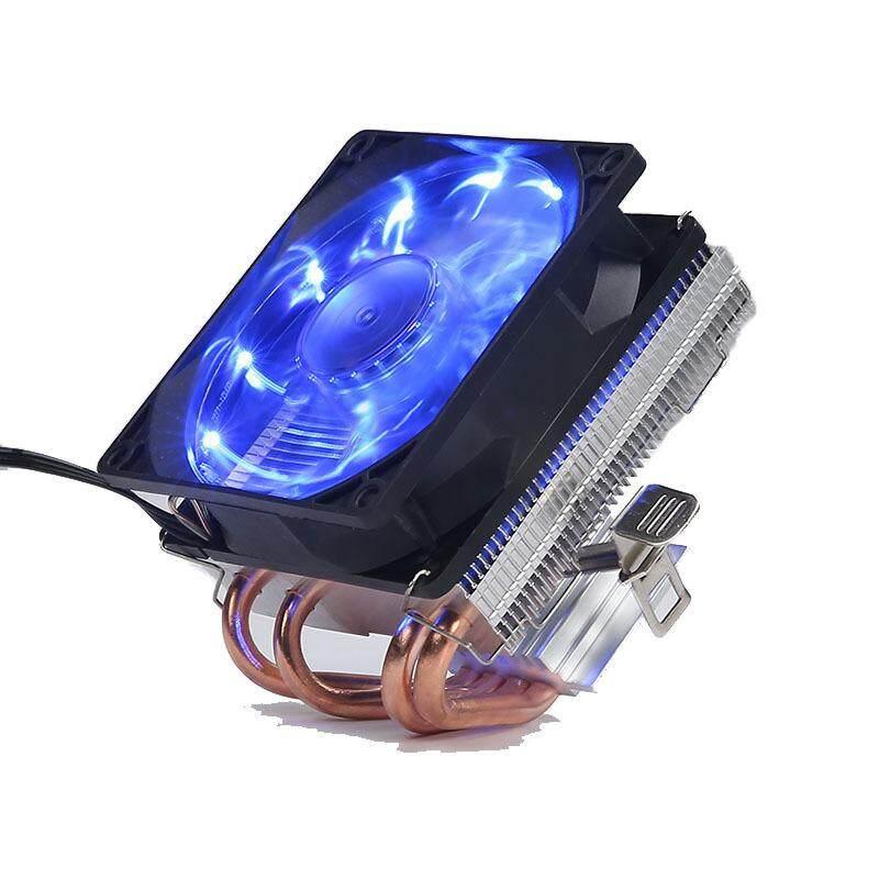 Tuoo 4 Copper Tubes Fans CPU Cooler LED CPU Cooling Fan PWM Silent CPU Cooler LGA/2011/115X/775/AMD 3Pin PC CPU Cooling Radiator
