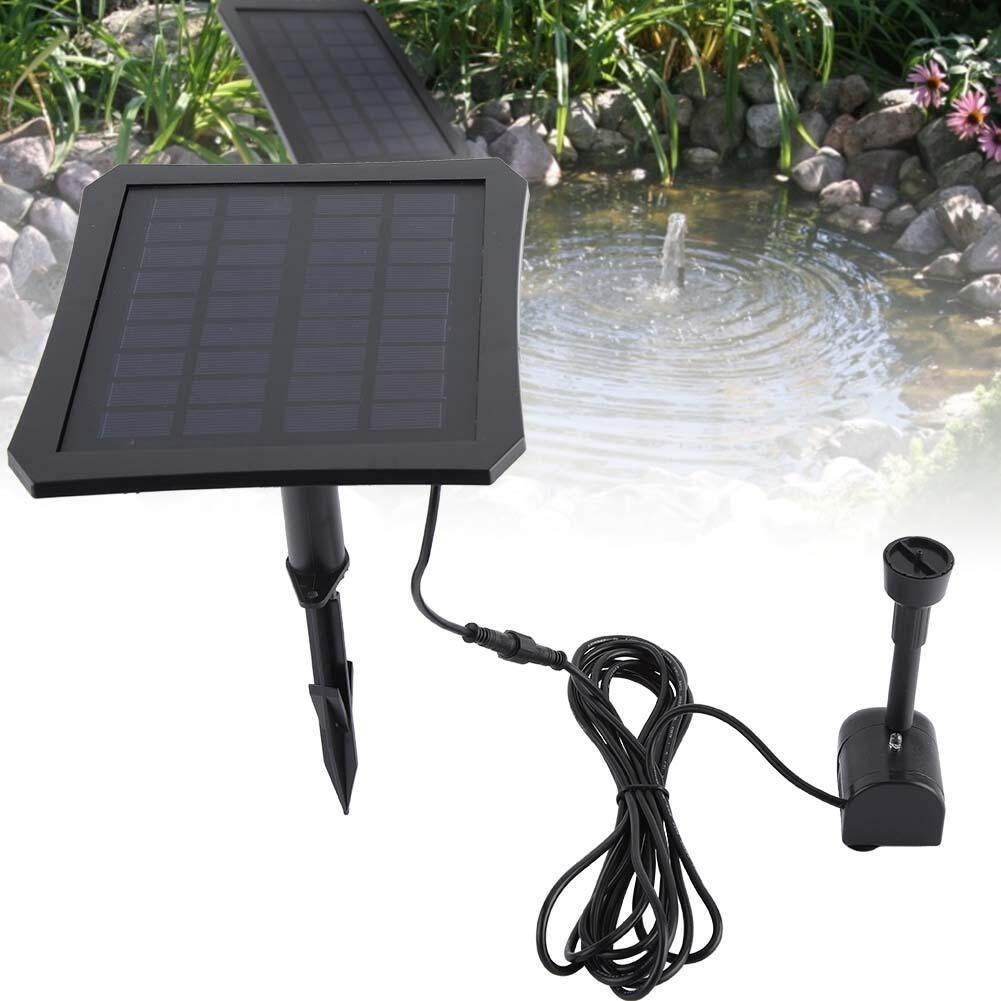 LED Color Change Suspension Pond Solar Submersible Water Pump Fountain