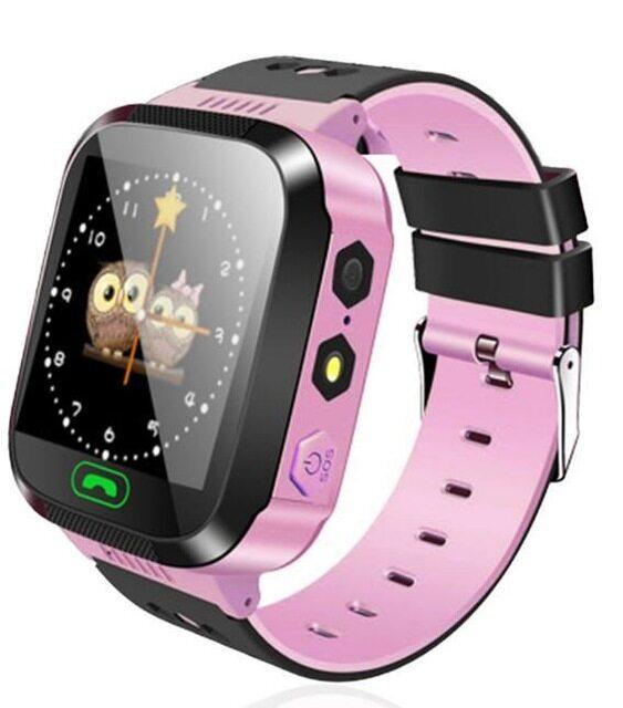 Đồng Hồ Thông Minh Chống Mất Q528 Y21 Cho Trẻ Em, Định Vị GPS Tập Thể Dục Vị Trí SOS Cuộc Gọi An Toàn Chăm Sóc Với Đèn Pin, Bé Smartwatch