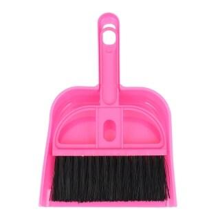 Mini Car Keyboard Cleaning Whisk Broom Dustpan Set thumbnail