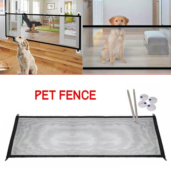 Lý Tưởng Di Động Lớn Pet Dog Baby An Toàn Cổng Lưới Hàng Rào Bảo Vệ Trong Nhà Nhà Bếp Net
