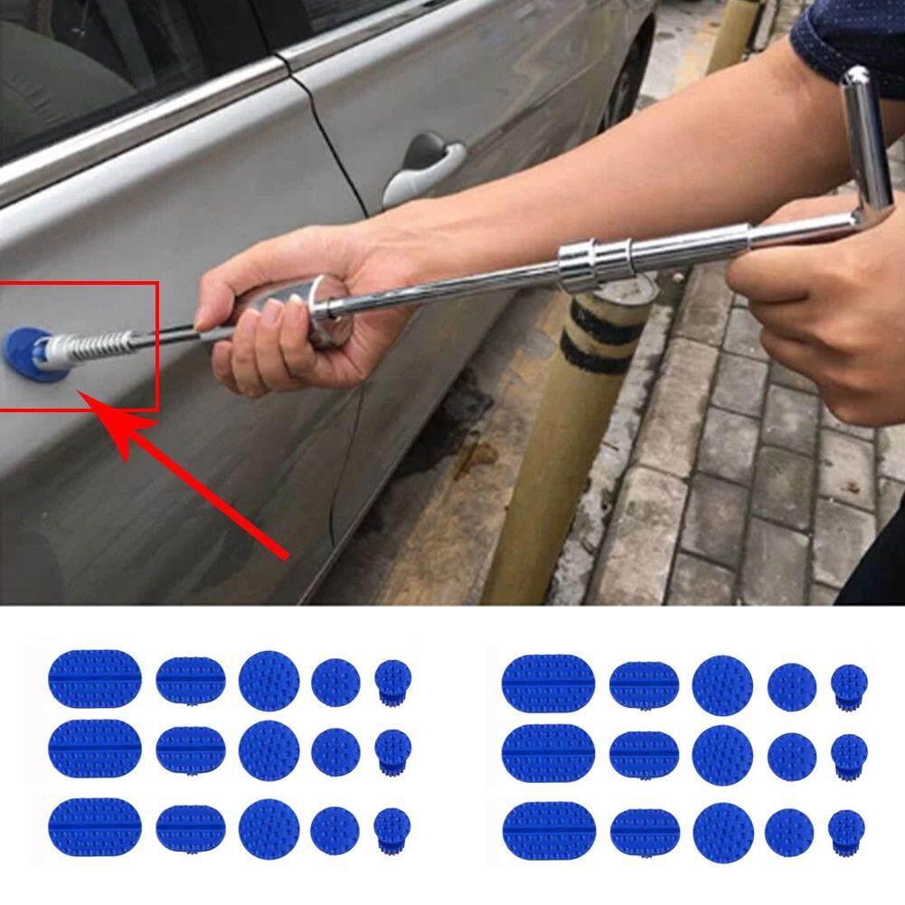 【dickeystore】30pcs Body Mobil Penyok Penghapusan Menarik Tab Paintless Perbaikan Alat Penarik Lem Tab By Dickeystore.