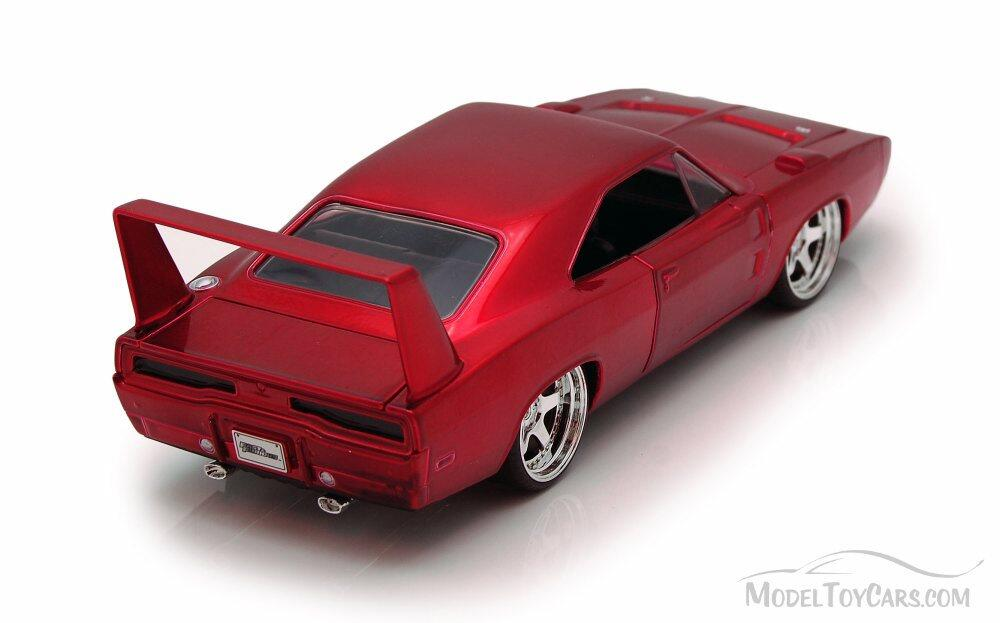 Red Dom/'s Dodge Charger Daytona Fast /& Furious 1//24 Scale