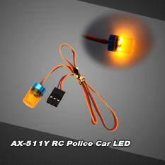 SENT AX-511Y RC Multi-function Circular Ultra Bright Police Car LED with strobing-blasting Flashing fast-slow Rotating Mode