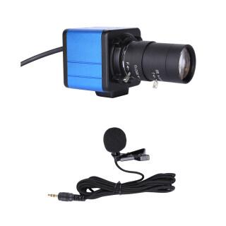 Webcam Máy Ảnh HD 1080P Webcam 2 Megapixel Zoom Quang Học 10X Góc Rộng 80 Độ Bù Phơi Sáng Tự Động Lấy Nét Thủ Công Với Giá Đỡ Micrô Cắm Và Phát USB Cho Hội Nghị Video Giảng Dạy Trực Tuyến Chat Trực Tiếp Trên Web thumbnail