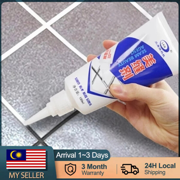 【Malaysia Ready Stock】Tile Gap Beauty Grout Epoxy Sealant Aide Repair Seam Filling Reform Wall Glue Waterproof Mold Filler Wall Tile Floor Cleaning Tool 180ML-250ML