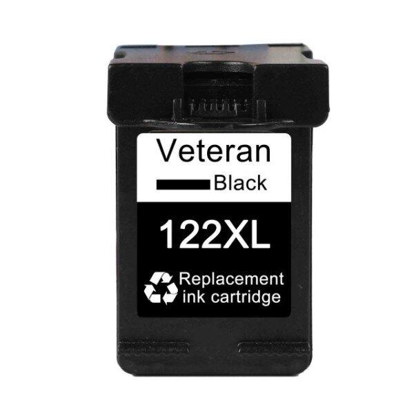 Giá Cựu Chiến Binh 122xl Thay Thế Hộp Mực Cho Hp 122 Xl Hp122 Mực Cartridge Đối Với Hp Deskjet 1000 1050 2050 3050a 3052a 3054 1510 2540(122XL Màu Đen)