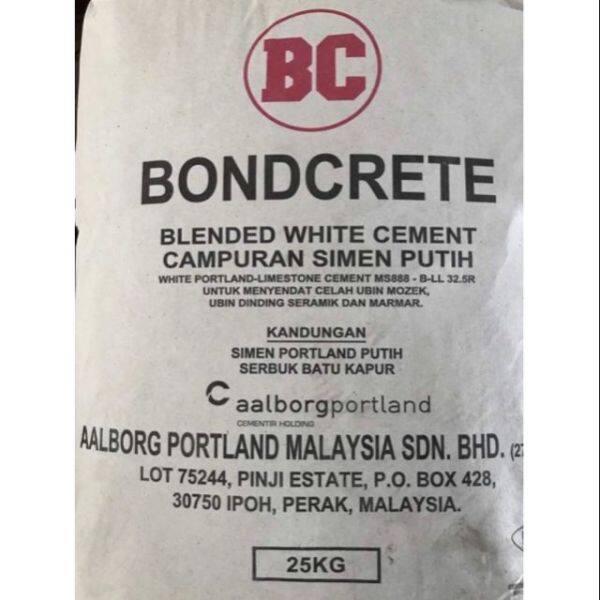 (1KG) BC Bondcrete White Cement