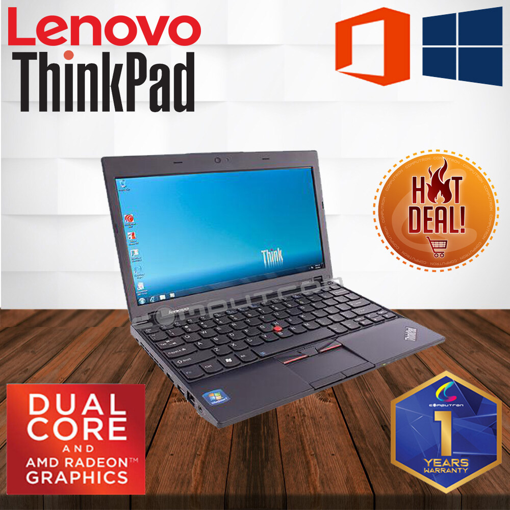 LENOVO THINKPAD X120E 11.6-INCH AMD-E350 DUAL CORE PROCESSOR / AMD GRAPHICS [ 1 YEAR WARRANTY ] [ LAPTOP ] Malaysia