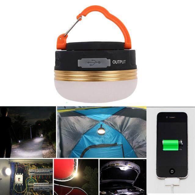 Kpkpmall Có Thể Sạc Lại 3W 300lm LED USB Đèn Cắm Trại Ngoài Trời Đèn Lồng Đèn Lều 6 Giờ