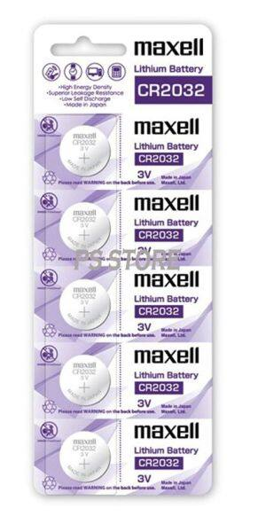 CR2032 GENUINE Maxell Japan Coin Cell Lithium Battery 3V ( 1PCS / 5 PCS ) Malaysia