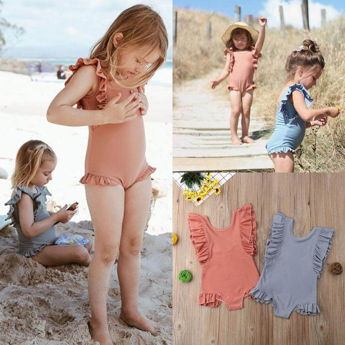 Holiday Toddler Kids Baby Girl Swimwear Swimsuit Bathing Suit Swimming Clothes