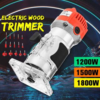 110 220V 1200W 1 4 Điện Cầm Tay Tông Đơ Gỗ Bộ Định Tuyến Bộ Dụng Cụ Nối thumbnail