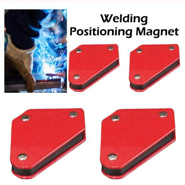 millionhardware - 4pcs Welding Magnet Magnetic Square Welding Holder