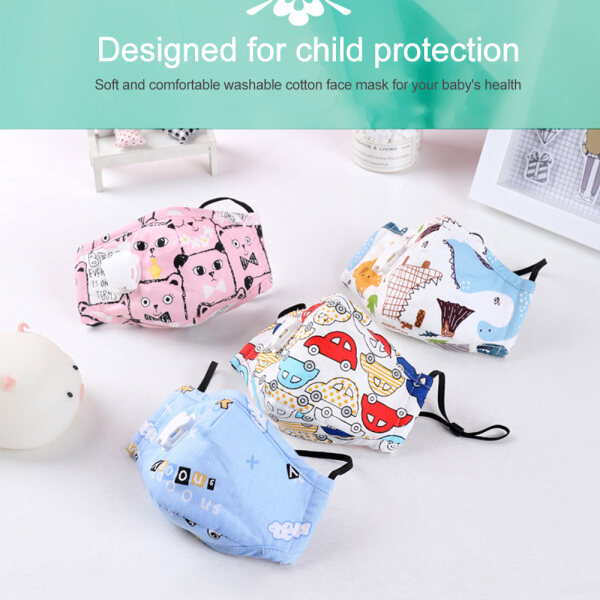 【Lzdam】[2020 HOT SALES] 1PCS Masks Anti-fog, Dust-proof, Breathable and PM2.5 Disposable Masks for Children kids shield
