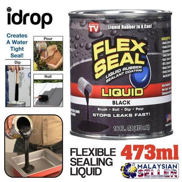 idrop Flexible Sealer Liquid - Seal Solution [ 473ml ][ Black ]
