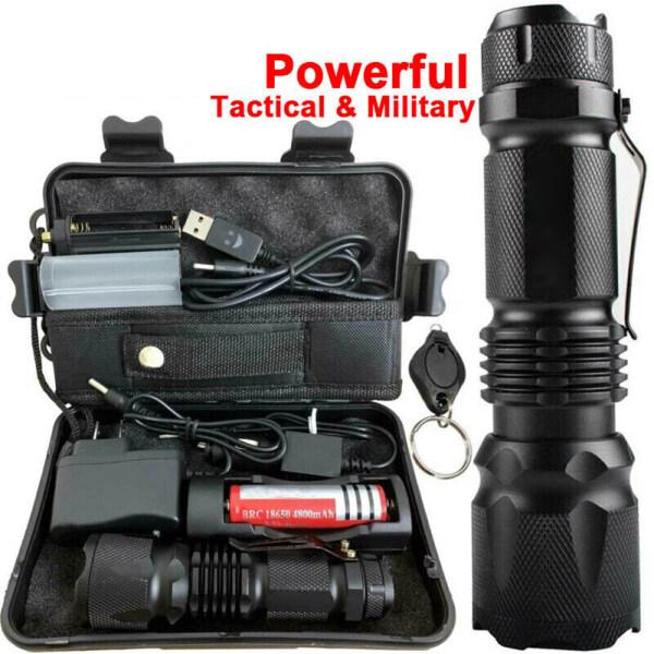 Original UltraFire Powerful 90000LM X 800 Tactical Military T6 LED Flashlight Torch Work Light