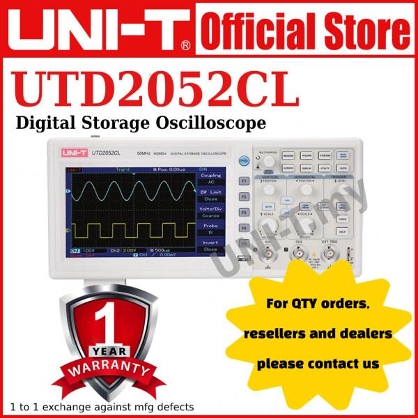 [Prebook] UNI-T UTD2052CL Digital Storage Oscilloscope