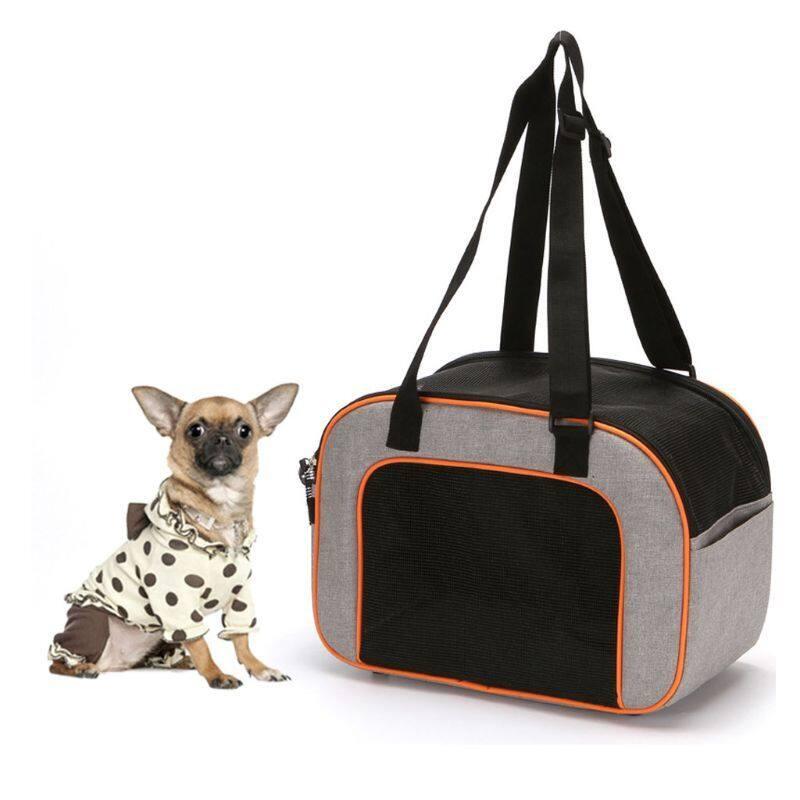 2020 Mới Chó Con Túi Đựng Chó Túi Đeo Vai Ni-lông Túi Xách Mèo Túi Tote Du Lịch Lưới Carry Packportable Gấp Ngoài Trời Thoáng Khí Và Thoải Mái