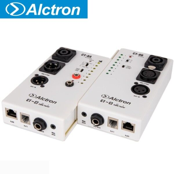 Alctron CT-8 multi-purpose audio cable tester, test for diversity cable, use in stage or recording studio Malaysia