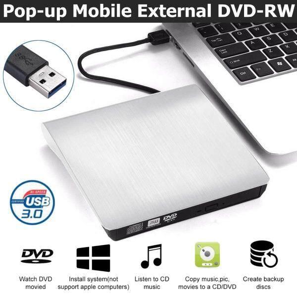 Original Diymore USB 3.0 Slim External DVD RW CD Writer Drive Burner Reader Player Optical Drives For Laptop PC