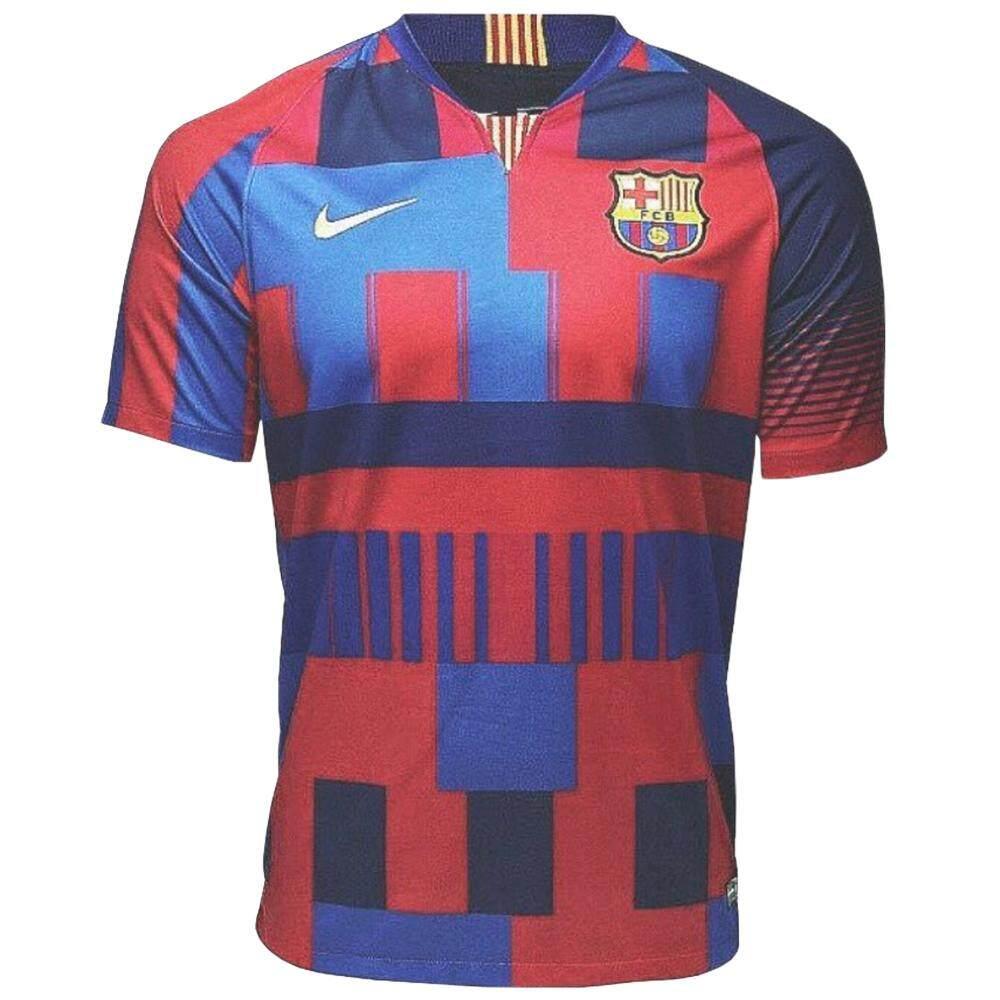 472bf0d2e Barcelona 20th Anniversary Mashup Jersey for Men Spanish Laliga