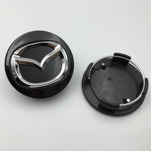 4 Miếng Dán Nắp Trung Tâm Bánh Xe Biểu Tượng 57Mm, Nắp Đậy Nắp Đậy Trục Bánh Xe Ô Tô Cho Mazda 2 3 3Mps 5 6 Rx-8 Mx-5 Bánh Xe Trung Tâm Mũ